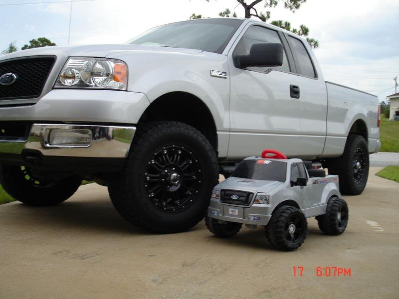 Father son truck
