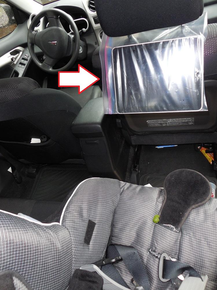 Parenting Hack DIY IPad Holder For The Car