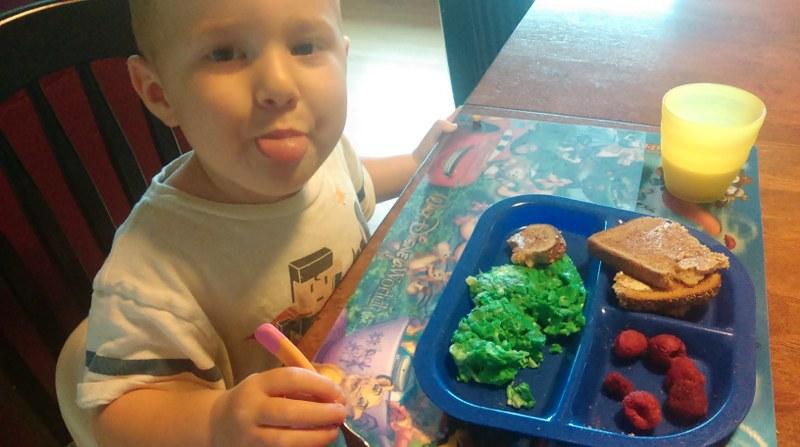 Green Eggs Kid