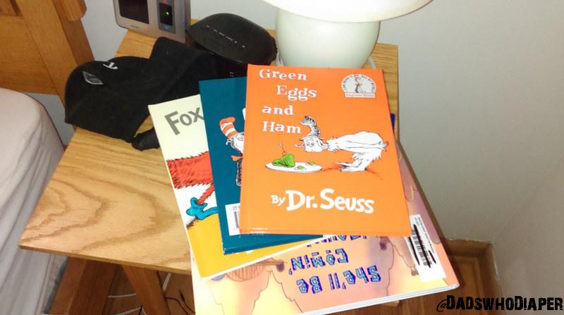 I like to read books to my son. Sam I am